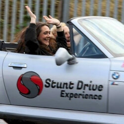 Leeds Hen Activities Stunt Driving