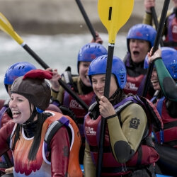Edinburgh Hen Activities White Water Rafting