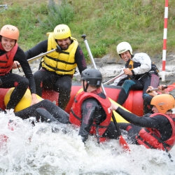 Prague Stag Activities White Water Rafting